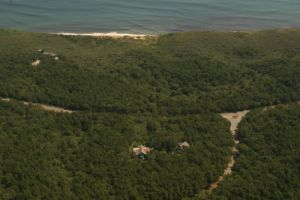 Aerial View Of Proximity To Ocean